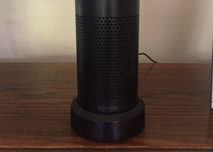 Amazon Echo & battery pack with Alexa  smart assistant  - 2