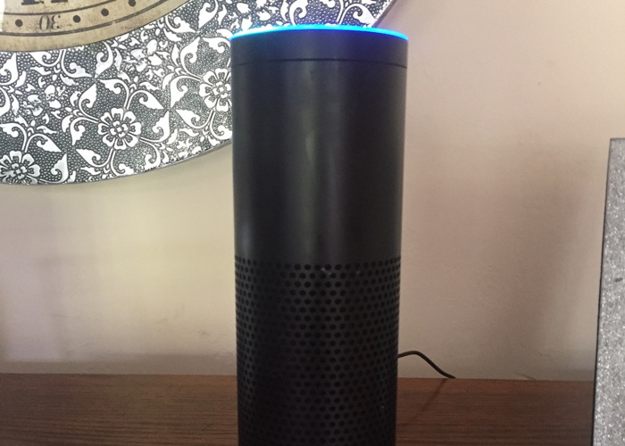 Amazon Echo & battery pack with Alexa  smart assistant  - 1