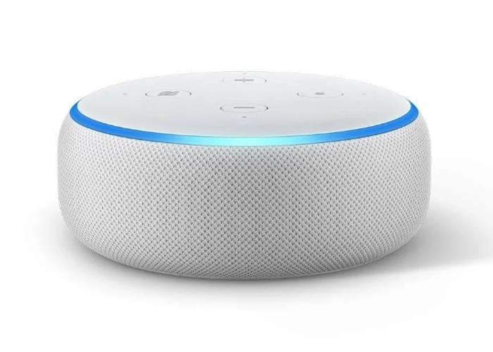 Amazon Echo Dot Smart Speaker - Wireless - Sandstone - 1