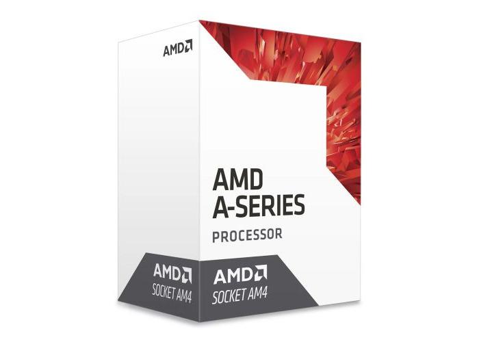 AMD A6 X2 9500 CPU, AM4, 3.5GHz (3.8 Turbo), Dual Core, 65W, 1MB Cache, 28nm - 1
