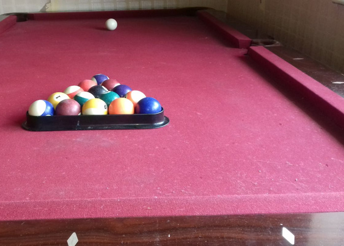 American Pool Table approx 2 metres long and 1 meter wide - 1
