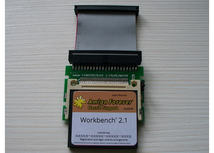 Amiga 600 4GB 2.1 Classic  Whdload 18.5 / Games CF Hard Drive - 1