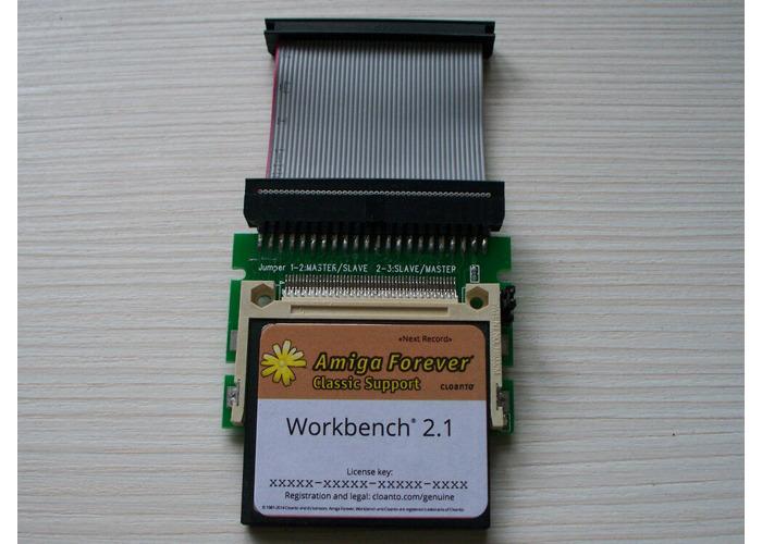 Amiga 600 4GB 2.1 Classic  Whdload 18.5 / Games CF Hard Drive - 2