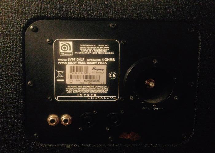 Ampeg Bass Cabinet SVT-410HLF 4x10 - 2