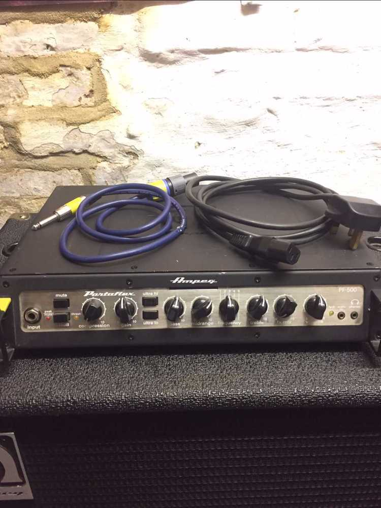 Ampeg Bass Head and Cab  Amp - 2