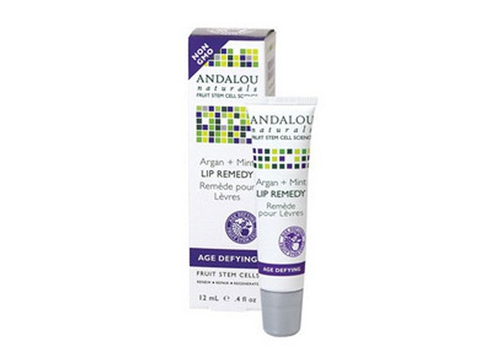 Andalou Naturals Lip Remedy Argan + Mint - .4 Oz - 1