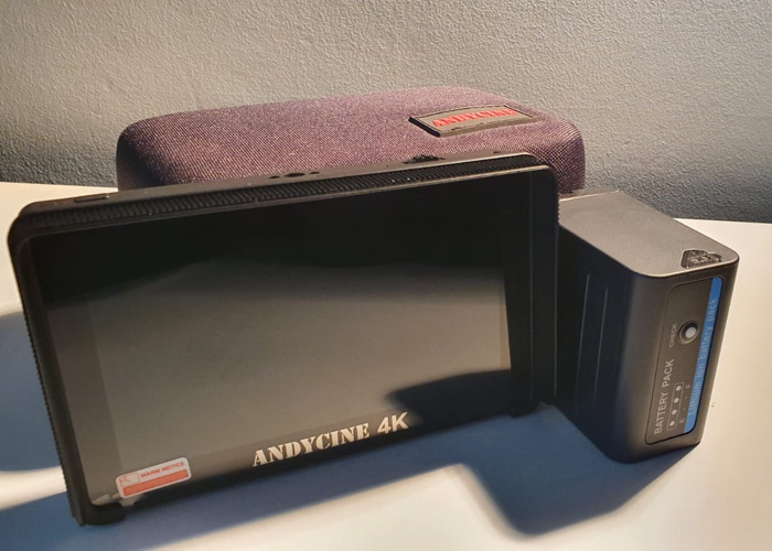 Andycine 4K Monitor  (A6 Plus) - 1