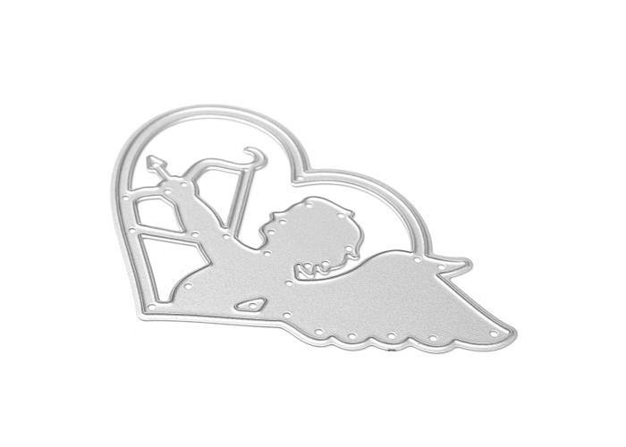 Angel Cupid Pattern Scrapbooking DIY Album Card Paper Craft Maker Metal Cutting Dies 5.1x8cm - 2