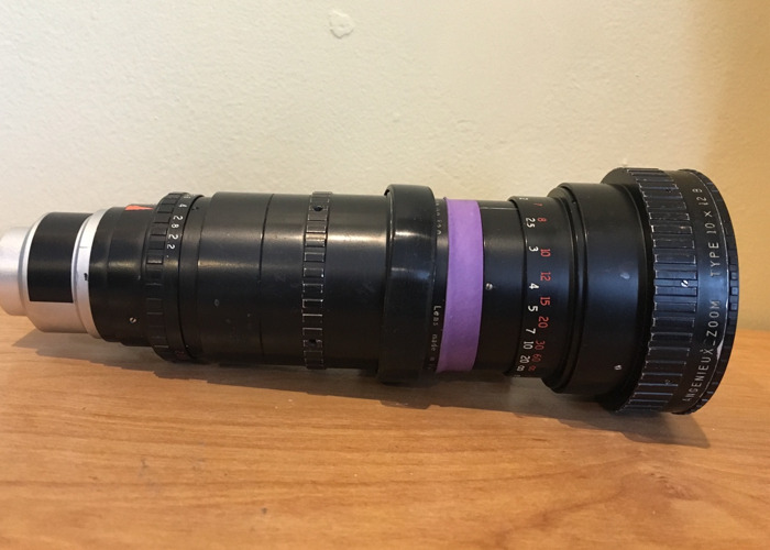 Angeniux 12-120mm F2.2 C Mount Lens - 2