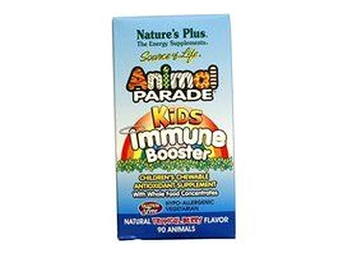 Animal Parade Kids Immune Booster 90 Tablets by Nature's Plus - 1