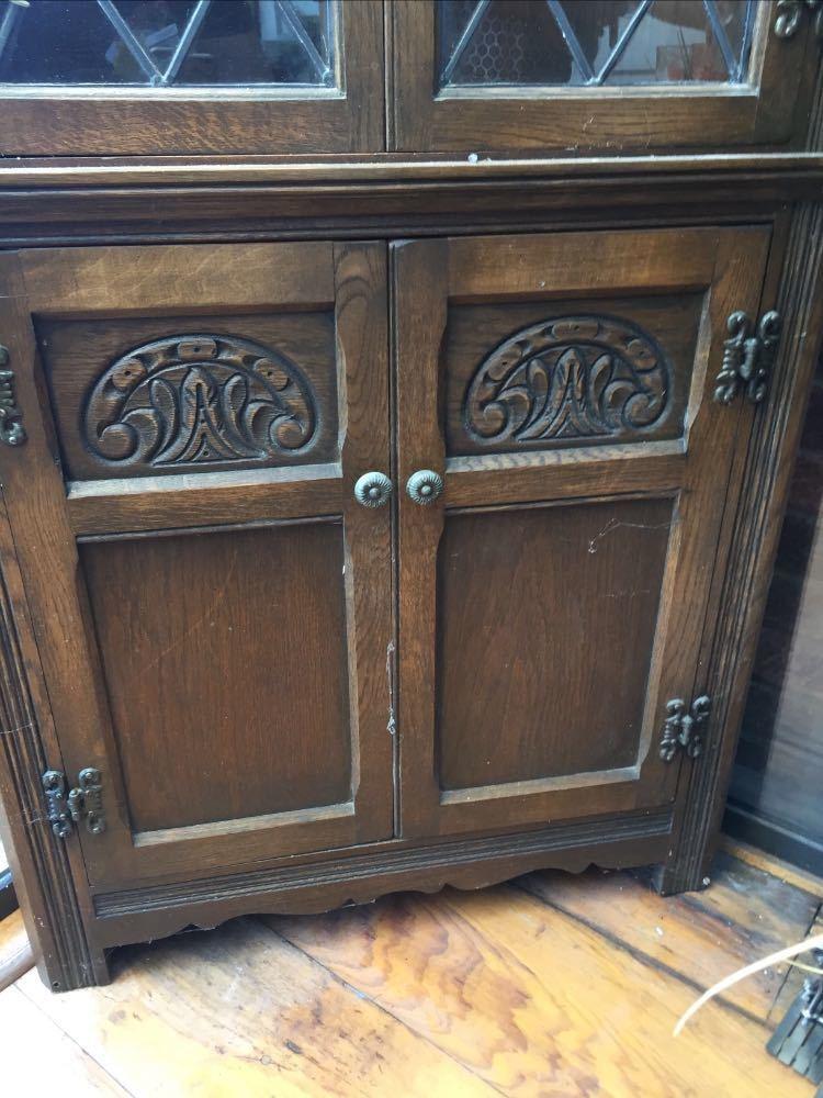 Anitque side corner cabinet  - 2