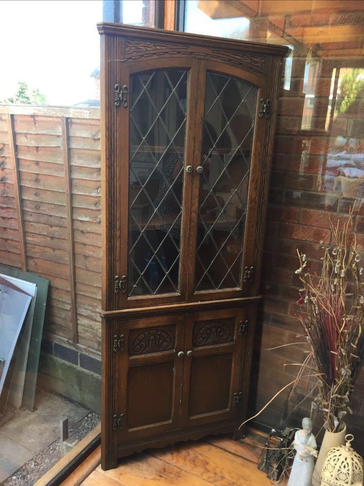 Anitque side corner cabinet  - 1