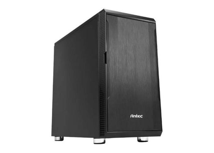 Antec P5 Ultimate Silent Case, Micro ATX, No PSU, Sound-Absorbing Foam, Black - 1