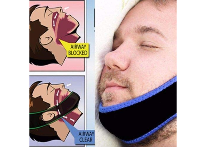 Anti Snore Solution-Stop snoring with Anti Apnea Jaw Solution - 1