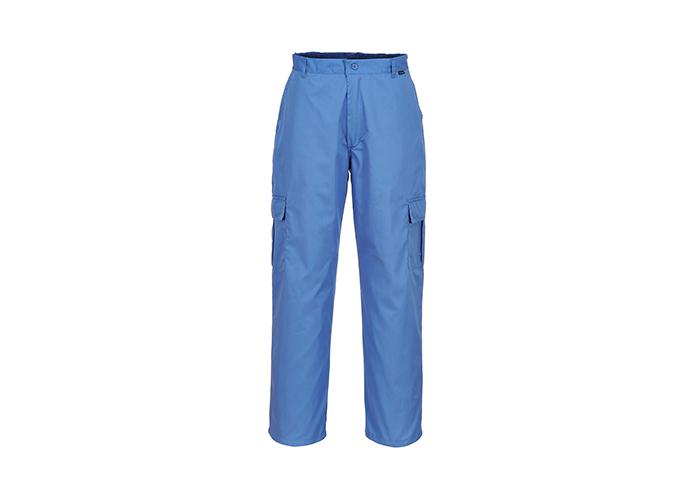 Antistatic Trousers  HosBlu  Large  R - 1