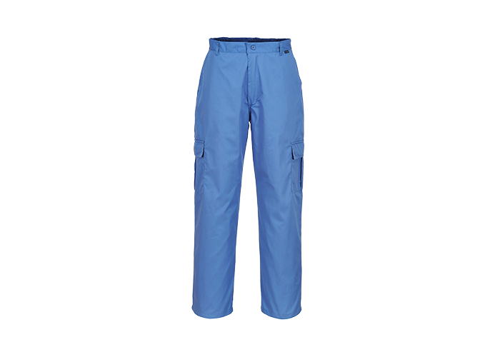 Antistatic Trousers  HosBlu  Medium  R - 1