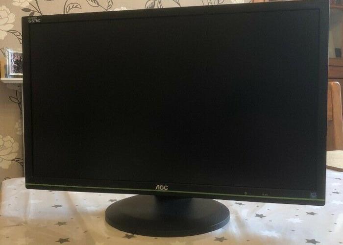 Buy AOC 24 inch Nvidia G-Sync 144Hz Gaming Monitor 1920x1080