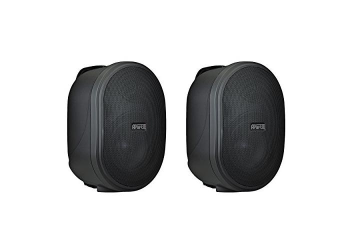 APART OVO8T-BL loudspeaker for MP3& iPod–Black - 1