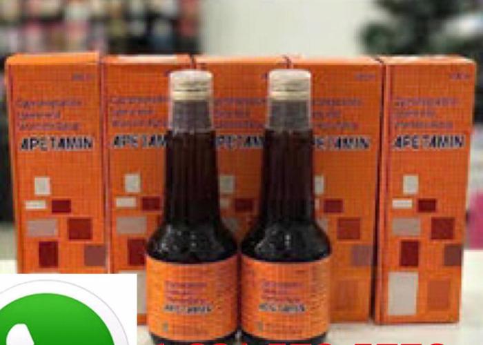 Apetamin Vitamin Syrup Stimulant 200ml weight gain - 2