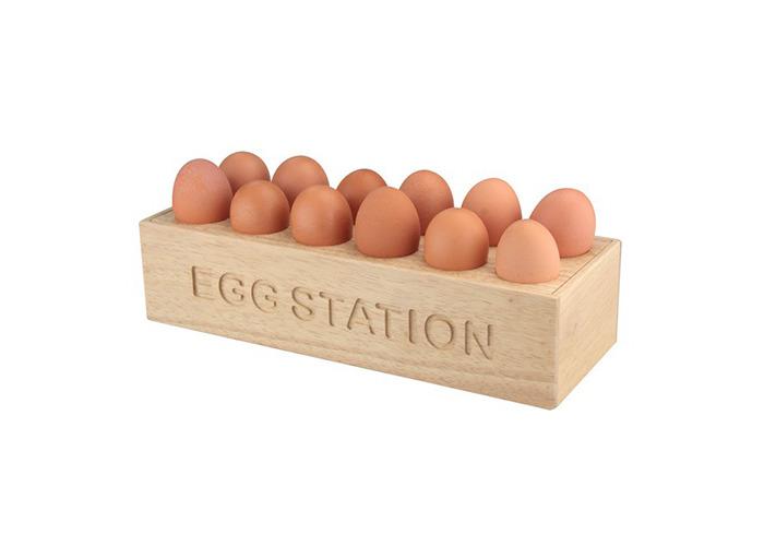Apollo Rb Egg Station 12, Brown - 1