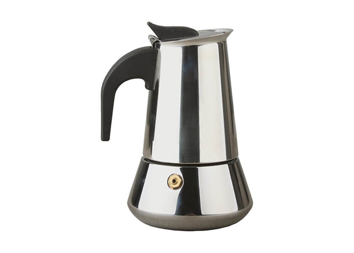 Apollo Stainless Steel Induction 2 Cup Coffee Maker - 1
