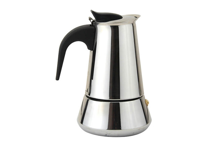 Apollo Stainless Steel Induction 4 Cup Coffee Maker - 1