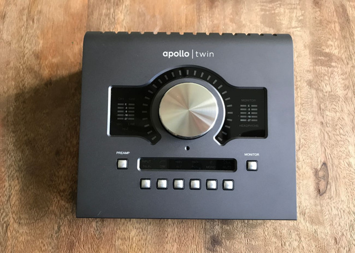 Apollo Twin Quad with Power Supply and Thunderbolt Cable - 1