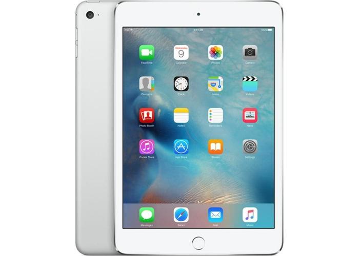Apple iPad Mini 4 MK9P2B/A 128GB with Built-in WiFi in Silver - 1