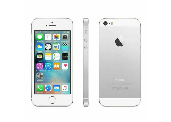 Apple iPhone 5s 16GB Silver Unlocked A1457 GSM Used - 1