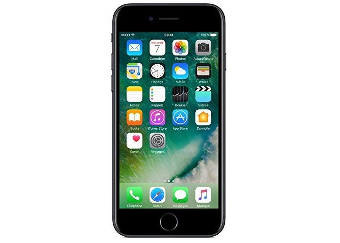 Apple iPhone 7 SIM-Free Smartphone Black 128GB (Renewed) - 1