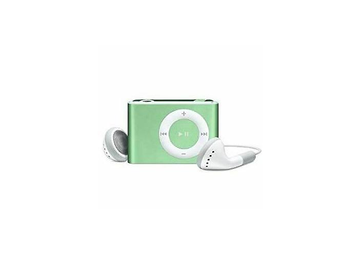 Buy Apple Ipod Shuffle 2nd Generation Light Green 1gb Amp Extras B Fat Llama