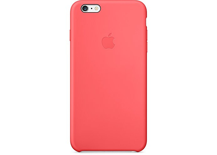 Apple MGXW2ZM/A SiliconeCase for Apple iPhone 6 Plus - Pink - 1