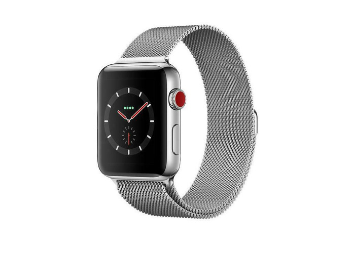 42mm Silver Stainless Steel Case with