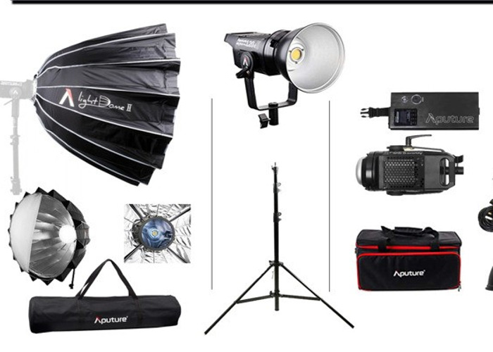 Aputure 120D II LED Lighting Kit - 1