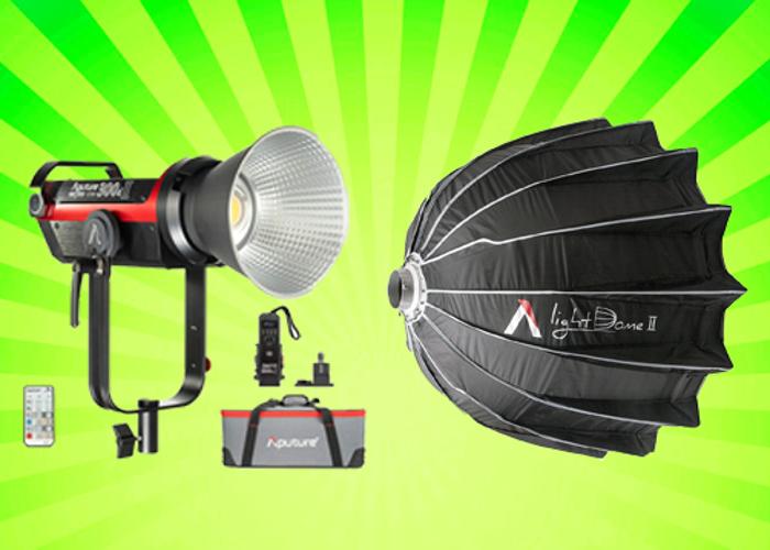 Aputure 300dii (Mark 2) + Light Dome 2 - 1
