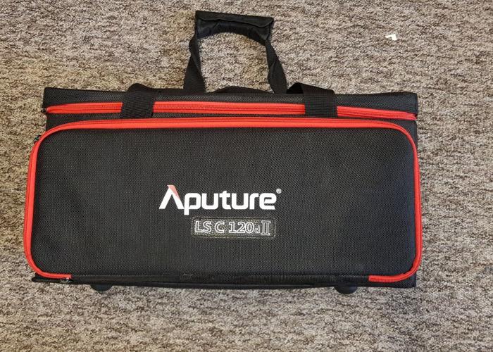 Aputure C120D II LED Light Kit W Softbox & Lightstand - 2