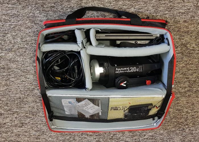 Aputure C120D II LED Light Kit W Softbox & Lightstand - 1