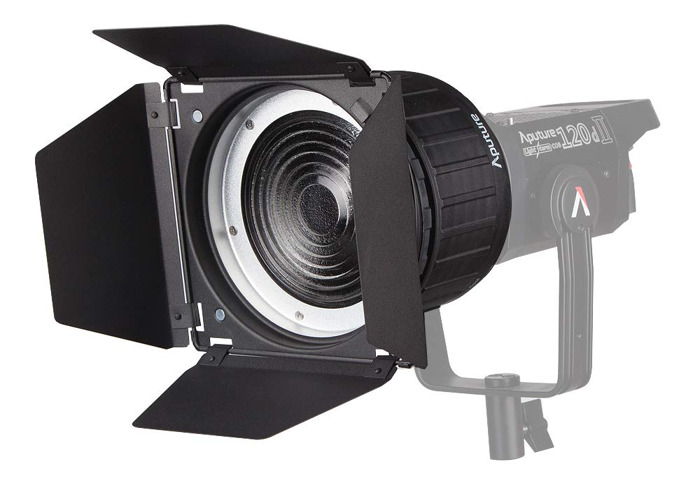 Rent Aputure Fresnel 2x Bowens Mount With Barn Doors New 2019 Version In Leeds