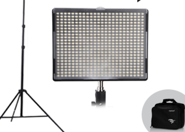 Aputure LED 528S LED Panel with Batteries and Power Supply - 1