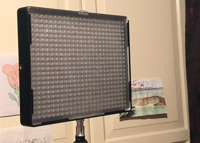 Aputure LED light panel x2 - Video / Photo use - 1