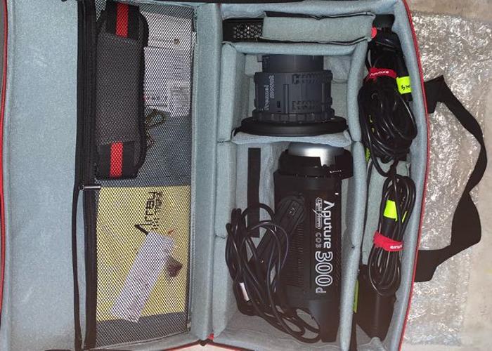 "Aputure  300D+Hexadecagon soft box 36""/90cm softbox+fresnel - 2"