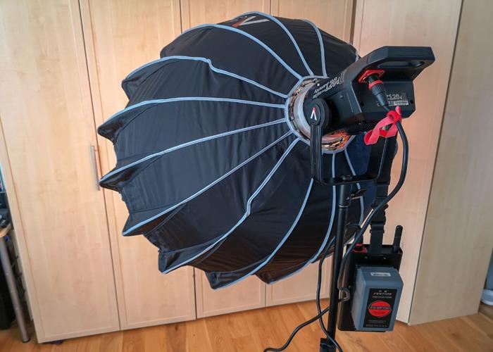 Aputure LS C120d II Studio LED Video Light W/ Light Dome II - 1