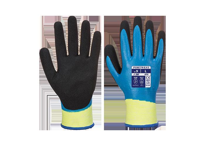 Aqua Cut Pro Glove  BluBk  XL  R - 1