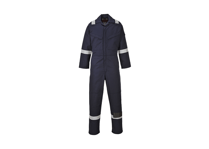 Araflame Gold Coverall  Navy  46  R - 1