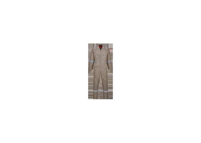 Araflame Silver Coverall  Khaki  52  R - 1