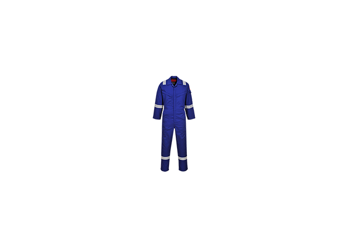 Araflame Silver Coverall  Royal  54  R - 1