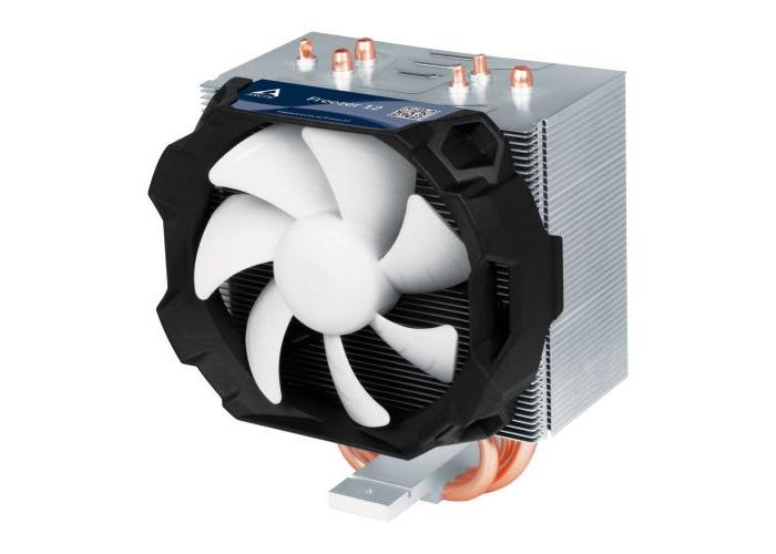 Arctic Freezer 12 Compact Semi Passive Heatsink & Fan, Intel & AM4 Sockets, Fluid Dynamic Bearing, 6 Year Warranty - 1