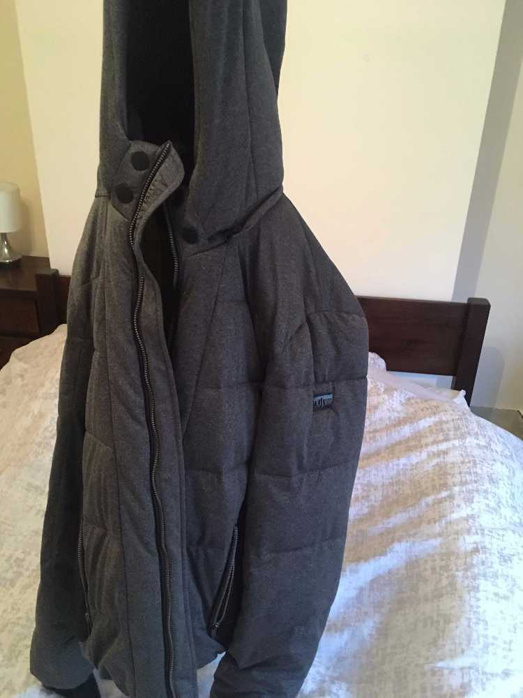 Armani Jeans Black and Grey Jacket - 2