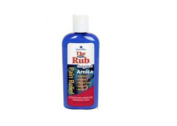 Arnica Rub Cream Unscented 4 Oz - 1