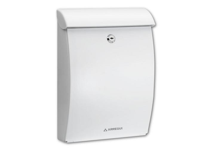 ARREGUI Mininova Plastic Mailbox - White - 1